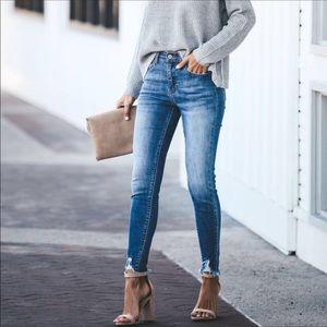 KanCan distresses jeans